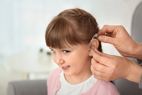 hearing loss missing developmental milestones