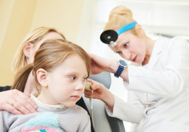 middle ear infections children