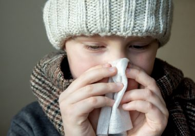 snus or common cold in kids